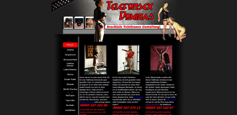 Telefonsex Dominas