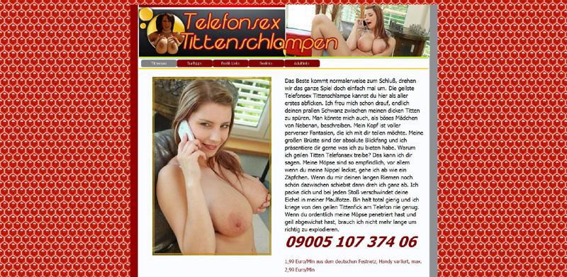 Telefonsex Tittenschlampen